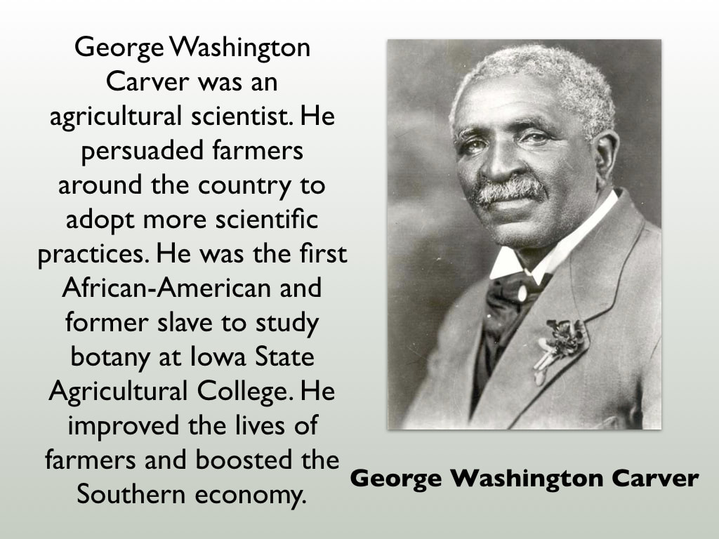 a biography of george washington carver an inventor Biography of george washington carver for elementry and middle school only george was returned to the george washington carver: scientist, inventor.