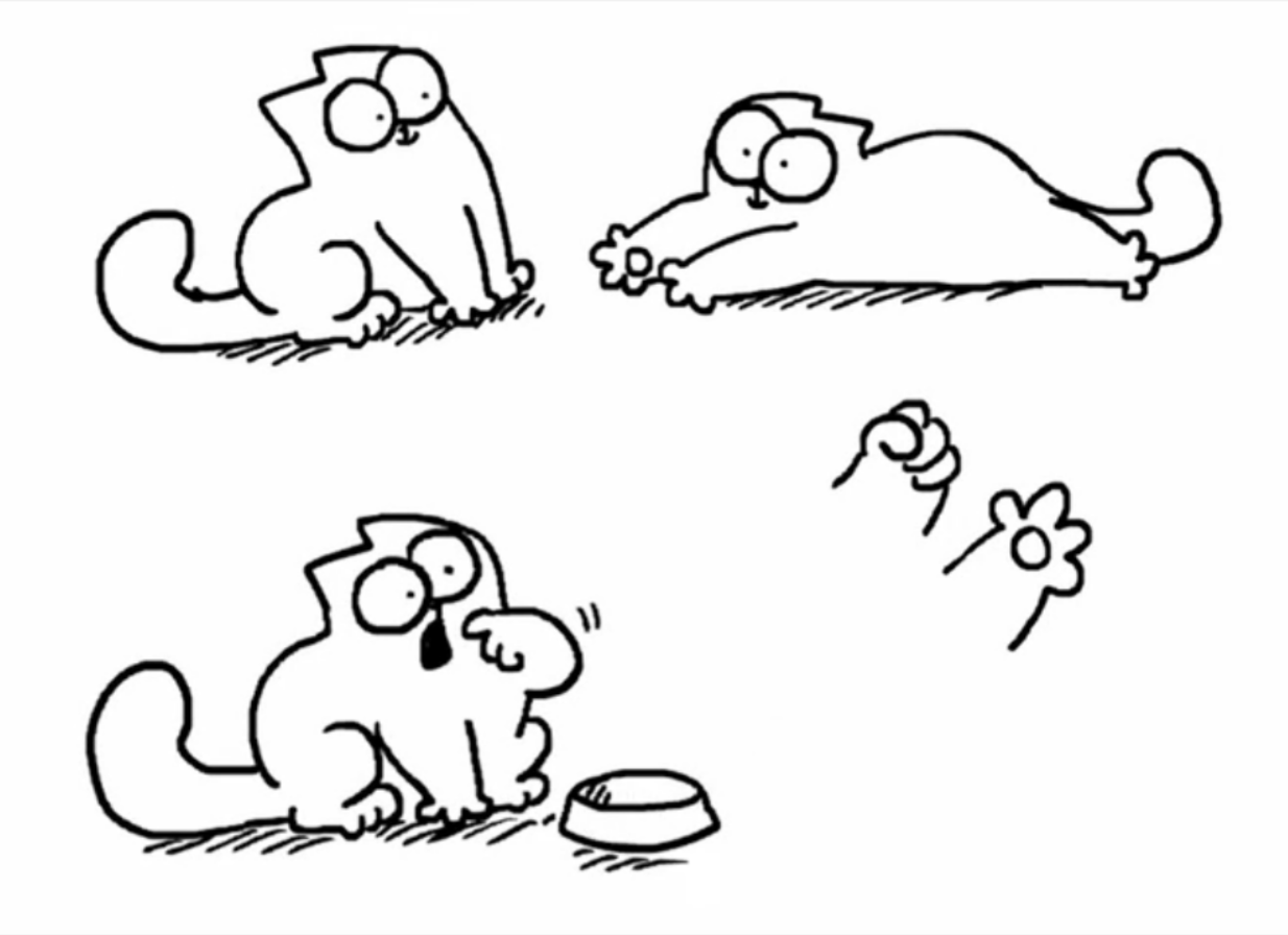 Simon S Cat Stickers